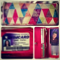 """April 8: Favorite things """"inside my wallet"""": an expired Wildcard and a picture of one cool guy. #PhotoADayApril"""