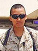 Marine Lance Cpl. Daniel Chavez  Died June 9, 2005 Serving During Operation Iraqi Freedom  20, of Seattle; assigned to the 1st Tank Battalion, 1st Marine Division, I Marine Expeditionary Force, Camp Pendleton, Calif.; killed June 9 in an explosion while conducting combat operations with 2nd Marine Division, II Marine Expeditionary Force (Forward), in Haqlaniyah, Iraq.