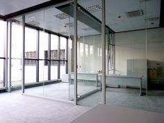 UR902: la #mampara de estética depurada para #oficina