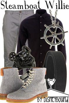 Disney Bound - Steamboat Willie