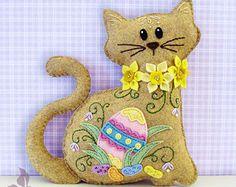 Gato relleno de patrón de los animales por SquishyCuteDesigns