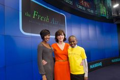 The Fresh Air Fund's Executive Director, Jenny Morgenthau, was joined by a group of excited Fresh Air children to ring the opening bell for the NASDAQ Stock Market on April 10, 2012!