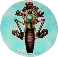 Uncle Sam Skeleton - Grateful Dead; on the road. . . the war is over! ..the machine is on. 1977 ☮