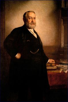 Benjamin Harrison (1833-1901) was the 23rd President of the United States.