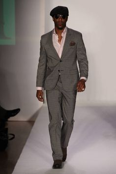 Activist Eyewear on NFL Wide Receiver Nate Burleson for the Malan Breton Fantôme AW 12 Show, presented by Elle Style 360