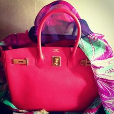 I think I'd give my first born for this pink Hermes
