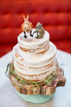 An Australian Outback themed wedding. Australia Cake, Wild One Birthday Party, Birthday Cake, Birthday Ideas, Australian Party, Love Cake Topper, Cake Toppers, Animal Birthday, Creative Cakes