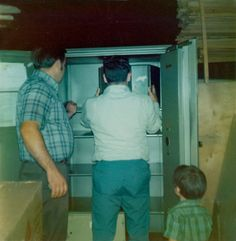 Putting some stuff in the safe that's actually still in use nearly 40 years later.