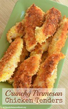 Crunchy Parmesan Chicken Tenders 2