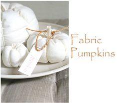 seidenfeins Blog vom schönen Landleben: DIY * Kürbis aus Nesselstoff No1. * nettle fabric pumpkins
