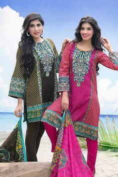 Ittehad Eid-Ul-Adha Printed Dresses #Collection 2015 - Pakistani #fashion dresses - Fashion in #Pakistan | Maram Fashions