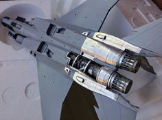 """modelling the Boeing F-15Ds """"Improved Baz"""" Israeli Air Force - G.W.H. kit, 1:48 scale model"""