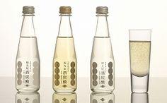 Japanese sparkling Sake from Kanazawa prefecture.