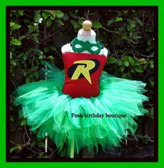 Robin Halloween Tutu Costume Set