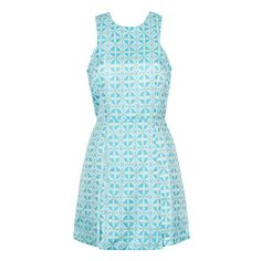 DRESS IN PATTERNED JACQUARD
