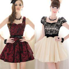Vestidos elegantes y cortos
