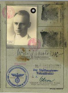 Rotmistrz Pilecki niemiecka karta rozpoznawcza