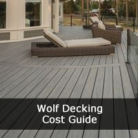 Our Wolf Deck Cost guide provides a thorough guide to the Prices & Costs for Wolf Decking ranges and designs including Wolf Perspective, Serenity, Serenity Porch.