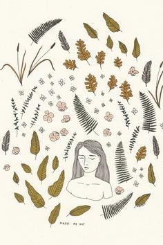 Mali Fischer-Levine explores the relationships of plants andgirls