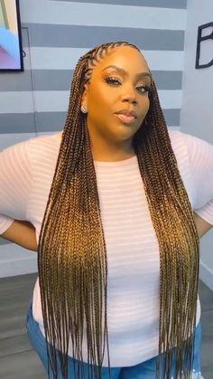 Long Braids, Stretches, Hair Cuts, Hair Styles, Instagram, Color, Box, Haircuts, Hair Plait Styles
