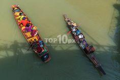 Thai Long Tail Boats