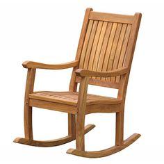 teak glider chair - Google Search