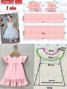 Baby Clothes Patterns Sewing Kids Clothes Girl Dress Patterns Sewing Patterns For Kids Baby Patterns Sewing For Kids Little Girl Dresses Kids Frocks Dress Anak Baby Girl Dress Patterns, Baby Dress Design, Baby Clothes Patterns, Dresses Kids Girl, Dress Sewing Patterns, Children Dress, Girls Dresses Sewing, Baby Dress Tutorials, Skirt Patterns