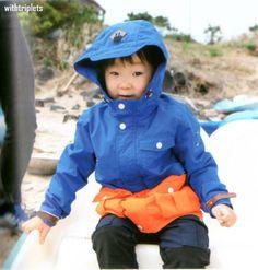 (3) Twitter Song Triplets, Song Daehan, Love Park, Little Darlings, Cute Kids, Superman, Twins, Rain Jacket, Windbreaker
