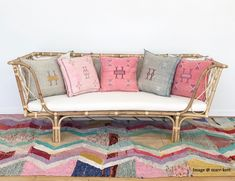 St Elmo Daybed or toddler bed Rattan beds Kids Bedroom – The Rattan Collective