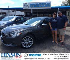 #HappyBirthday to Joshua & Heather from Brandon Holloway at Hixson Mazda of Alexandria!  https://deliverymaxx.com/DealerReviews.aspx?DealerCode=PSKP  #HappyBirthday #HixsonMazdaofAlexandria