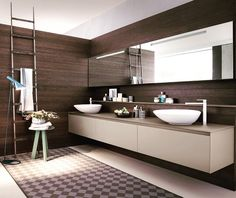 Wellness by Pedini // Contemporary bathroom solutions by pedinipdx