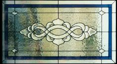 Traditional Stained Glass Transom