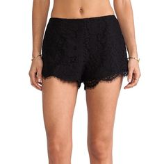 "Keepsake for Revolve Clothing Black Shorts size XS BRAND NEW ""Almost Over"" black lace shorts by Keepsake for RevolveClothing.com.  Adorable lace shorts with scalloped edges and hidden back zipper.  Shorts measure approx 11"" in length.  Beautiful shorts.  High fashion style with flattering fit!  New with tags attached! Keepsake for Revolve Clothing Shorts"