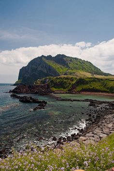 When I was young, my parents took me jeju island every summer. This place is like Hawaii in Korea. Places Around The World, Around The Worlds, Worlds Of Wow, 7 Natural Wonders, Korean Peninsula, Jeju Island, Dream City, Travel Abroad, Nature Scenes