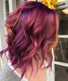 "1,520 Me gusta, 16 comentarios - ISA Professional (@isa.professional) en Instagram: ""Amazing purple color melt by @theladyofhair! #hair #hairinspo #hairgoals #hairenvy #pinkhair…"" Long Hair Styles, Beauty, Me Gustas, Colors, Beleza, Long Hairstyle, Cosmetology, Long Hairstyles, Long Hair Cuts"