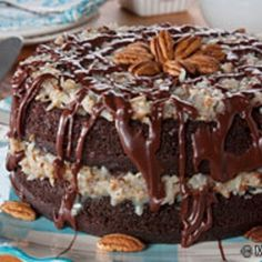The Ultimate German Chocolate Cake