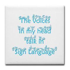Sad but so so true....i find myself signign randomness sometimes!! (ASL)