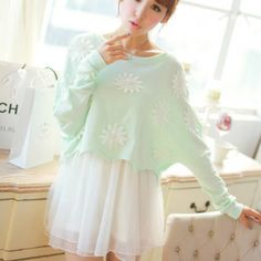 Cute kawaii two-piece dress SE4055