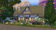 Fairy house at Studio Sims Creation via Sims 4 Updates
