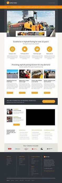who loved this design business facebook html cms template click