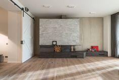 karhard architektur + design: FBL Loft, Studio, Divider, Ben Klock, Fireplaces, Furniture, Nice, Home Decor, Design Ideas