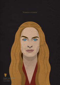 Game of Thrones Portraits by Samurai Gustav Game Of Thrones Westeros, Game Of Thrones Art, Game Of Thrones Characters, Cercei Lannister, Jaime Lannister, Valar Dohaeris, Valar Morghulis, Margaery Tyrell, Daenerys Targaryen