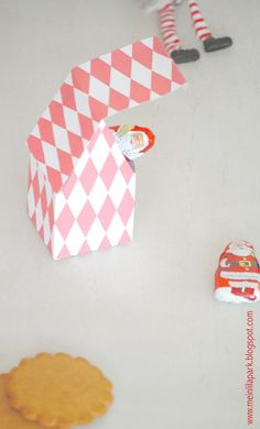 Free printable house box - ausdruckbare Geschenkbox - freebie |