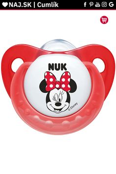 NUK Disney Mickey Baby Pacifier 618 Months Silicone Girl Red Soother 91941 91013 -- Read more at the image link. (This is an affiliate link) Nuk Pacifier, Pacifiers, Minnie Mouse Nursery, Period Humor, Baby Binky, Boy Gif, Baby Bottles, Quotes For Kids, Girl Humor