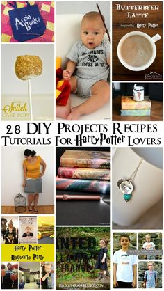 Tons of amazing Harry Potter inspired projects tutorial diy and party ideas- Rae GUn Ramblings
