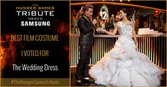 I voted for The Wedding Dress as Tribute for The Hunger Games Tribute Awards #TheHungerGamesTribute  tribute.thehungergames.movie