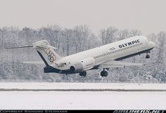Olympic Airlines Boeing (registered SX-BOC) departing Frankfurt-Main, March (Photo by Raimund Stehmann) Olympic Airlines, Airplane Photography, British Airways, Aircraft Pictures, Olympics, Aviation, Spacecraft, Jets, Airplanes