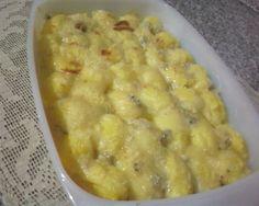 Gnocchi di polenta gratinati ai formaggi