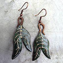 Z jesennej kolekcie / KatarinaKondacova - SAShE. Drop Earrings, Christmas Ornaments, Holiday Decor, Handmade, Jewelry, Autumn, Hand Made, Jewlery, Jewerly