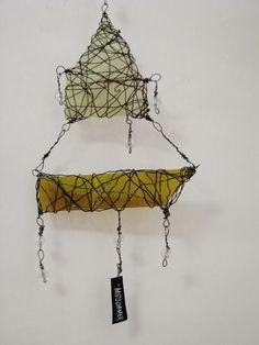 Midsommer, 2014, wire, glass, artist Eija Suneli Sailing, Wire, Glass, Artist, Candle, Drinkware, Corning Glass, Artists, Yuri
